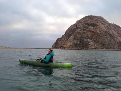 Kayaking in Morro Bay.